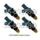Fuel Injector Set 35-80588 I4