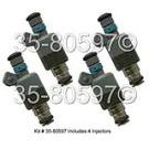 GEO Storm Fuel Injector Set