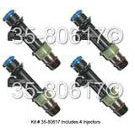 GMC Canyon Fuel Injector Set