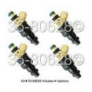GEO Tracker Fuel Injector Set