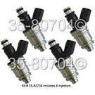 Fuel Injector Set 35-80704 I4