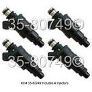Isuzu Impulse Fuel Injector Set