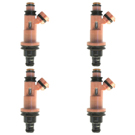 BuyAutoParts 35-80762I4 Fuel Injector Set 1