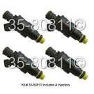 Fuel Injector Set 35-80811 I4