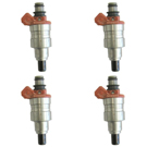 BuyAutoParts 35-80875I4 Fuel Injector Set 1