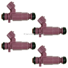 BuyAutoParts 35-81434I4 Fuel Injector Set 1