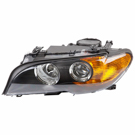Left Driver Side - Halogen With Amber Turn Signal - Production Date From 03-01-03