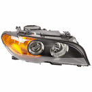 Right Passenger Side - Halogen With Amber Turn Signal - Production Date From 03-01-03