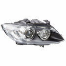 Right Passenger Side - Xenon with Adaptive Headlights - i and xi Models - Convertible