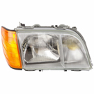 Mercedes_Benz 400SEL Headlight Assembly