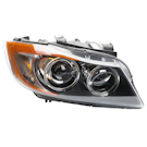 Right Passenger Side - Bi-Xenon without Adaptive Headlight - i and xi Models - Sedan