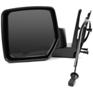 BuyAutoParts 14-11408MJ Side View Mirror 1