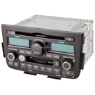 AM-FM-Cass-AUX-6 Disc CD/DVD Player and Face Code 1XF0 or 1XF1 [OEM 39100-S3V-A600 or -A610]