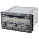 AM-FM-XM-6CD Radio with Face Code 1BV1 or 1BV4 [OEM 39100-S9V-A50 A500 A510 or A510]