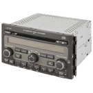 AM-FM-XM-6CD Radio with DVD Player and Face Code 1PV0 or 1PV3 [OEM 39100-STW-A40 A400 A41 or A410]