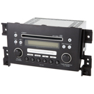 AM-FM-Single CD Radio - Black [OEM 39101-65J20 or 39101-65J20-ZEW]