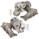 Front and Rear Turbocharger Kit
