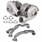 BuyAutoParts 40-80776UR Turbocharger and Installation Accessory Kit 1