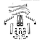 Outlaw Series Cat-Back SS Kit - Base - 5.7L - 145.7 in. Wheelbase