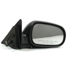 BuyAutoParts 14-11501ME Side View Mirror 1