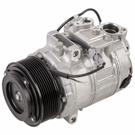 BMW 640i Gran Coupe A/C Compressor