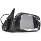 BuyAutoParts 14-11568MJ Side View Mirror 2