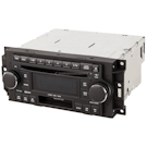 Radio AM-FM-Cass 6 CD MP3 with Face Code RAK and Chrome Knobs and OEM 5064032AN or 82210906AB