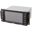 Radio-AM-FM-XM-MP3-DVD Player with Rear Camera and Face Code REN [OEM P05064759AA through AD or P05064245AL and P05064245AI]
