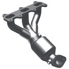 Non-California Emissions - 2.7L Models - Rear Manifold