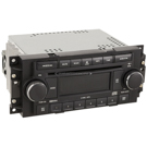 Radio and 6 Disc CD Player with Face Code RAQ [Chrome Ringed Knobs]