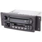 Radio-AM-FM-Cass-Single CD with Face Code RBP and OEM 5094468AC