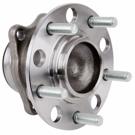 Rear Hub-All Wheel Drive Models
