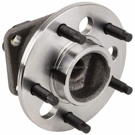 Rear Hub - 4 Wheel ABS Model