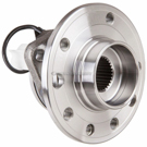 Saab 9-3 Wheel Hub Assembly