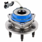 Front Hub - 4WD Models with 6 stud hub