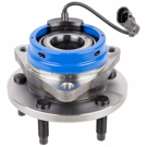 Front Hub-Models with Rear Disc Brakes