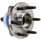 Front Hub - 2WD with 6 studs