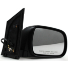 BuyAutoParts 14-80326MX Side View Mirror Set 2