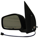 BuyAutoParts 14-11893MJ Side View Mirror 2
