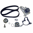 Timing Belt - Pulley and Water Pump Kit - 4 Cylinder Engine