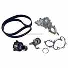Timing Belt - Pulley and Water Pump Kit - 3.0L Engine with Bypass Tube