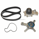 Timing Belt - Pulley and Water Pump Kit - 2.0L Engine - Converts To Mechanical