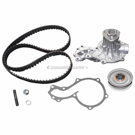 Timing Belt - Pulley and Water Pump Kit - 2.0L Engine To Production Date 04/97 and To Chassis 098995