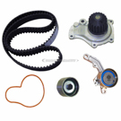Timing Belt - Pulley and Water Pump Kit - 2.4L Engine with Mechanical Tensioner
