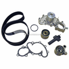 Timing Belt - Pulley and Water Pump Kit - 3.4L Engine with Oil Cooler Fitting