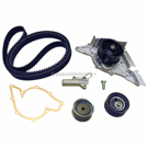 Timing Belt - Pulley and Water Pump Kit - 2.8L Engine
