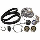 Timing Belt - Pulley and Water Pump Kit - 2.0L Engine