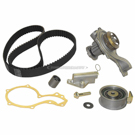 Timing Belt - Pulley and Water Pump Kit - ATW Engine ID with 153 Tooth Belt