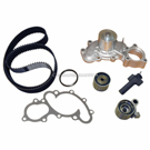 Timing Belt - Pulley and Water Pump Kit - 3.4L Engine without Oil Cooler Fitting