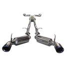 All Models - Injen Super SES - Titanium Tip Exhaust System - Titanium Tip